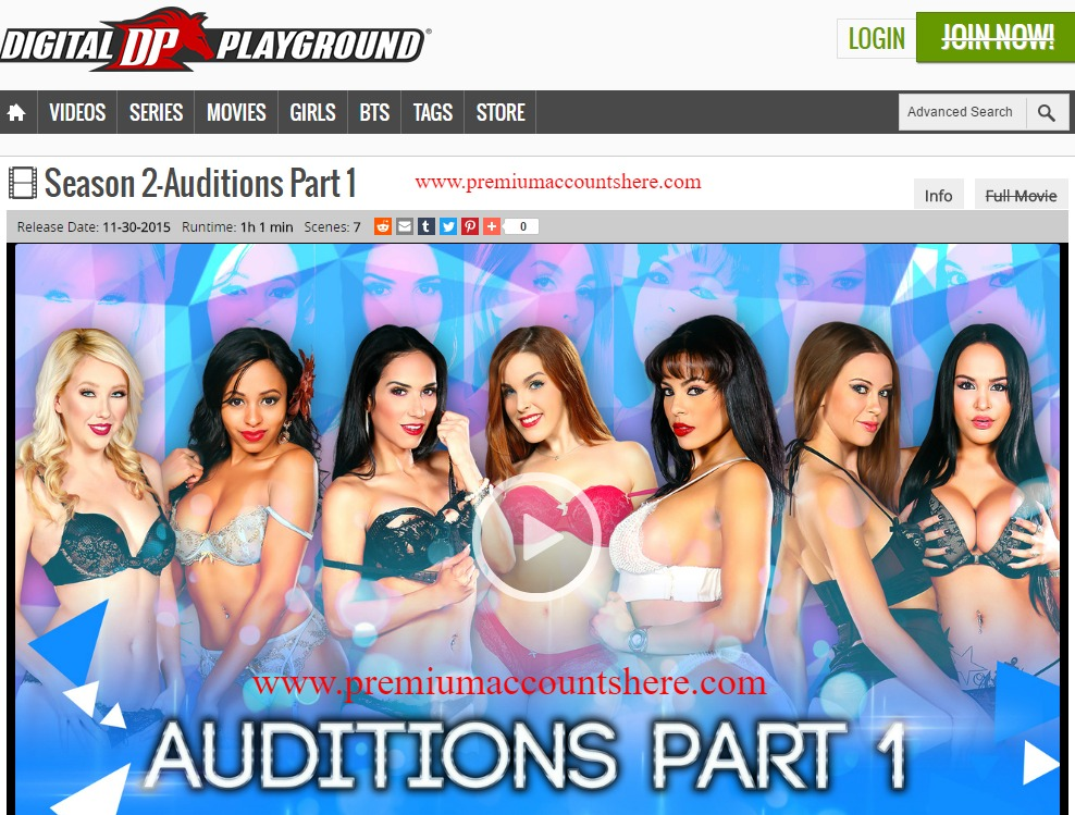 DigitalPlayground porn accounts passwords